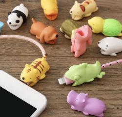 animaux mignons cable protection