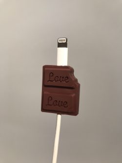 accessoire iphone android chocolat